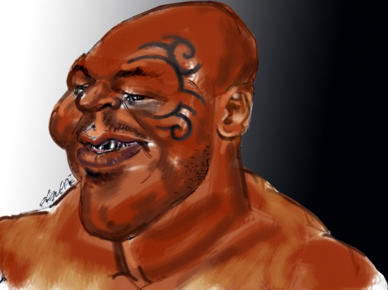 Mike Tyson by daulle